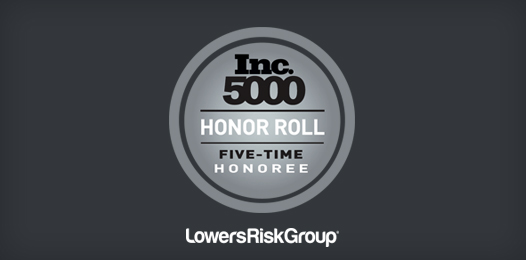 lowers risk inc 5000 honor roll